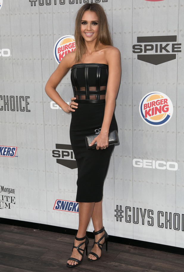 Jessica Alba attends the Spike TV Guys Choice Awards in Los Angeles, America - 7 June 2014
