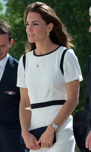 Kate Middleton, Duchess of Cambridge attends a breakfast reception at The National Maritime Museum in Greenwich, London, 10 June 2014