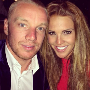 Danielle Lloyd and Jamie O'Hara holiday in Los Angeles. They started their day sightseeing before having lunch at the Ivy and a glamorous night out. 12 June 2014