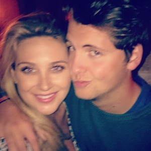 Made In Chelsea's Stevie Johnson shares old photo with Stephanie Pratt (16 June).