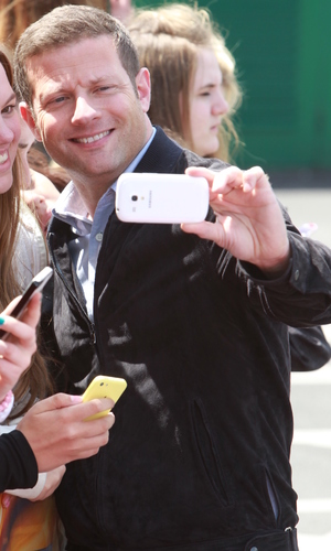 Dermot O'Leary arrives at Old Trafford stadium for 'The X Factor' Manchester auditions - 16 June 2014