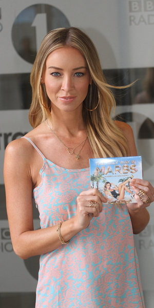 Lauren Pope promotes 'The Only Way Is Marbs: Marbella Anthems' at BBC Radio studios, London - 22 June 2014
