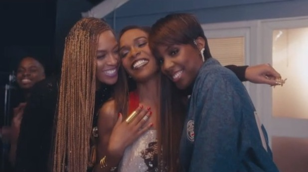 Destiny's Child reunite for Michelle Williams' 'Say Yes' video (18 June).