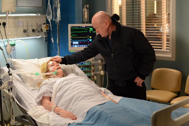 EastEnders, Sharon in hospital, Wed 18 Jun