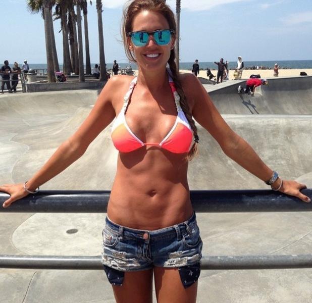 Danielle Lloyd, LA, Instagram, 15 June
