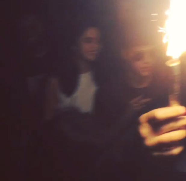 Justin Bieber and Selena Gomez pictured partying together in Instagram video posted by rapper Khalil, 17 June 2014