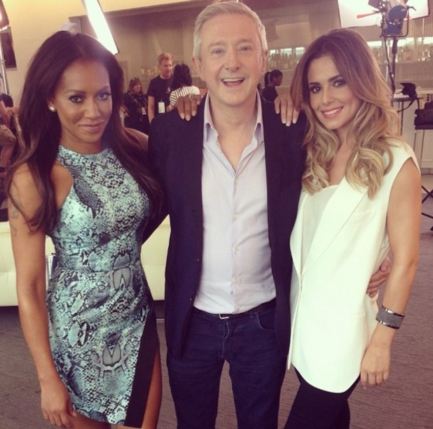 Cheryl Cole, Mel B, Louis Walsh, X Factor auditions, Manchester, 17 June