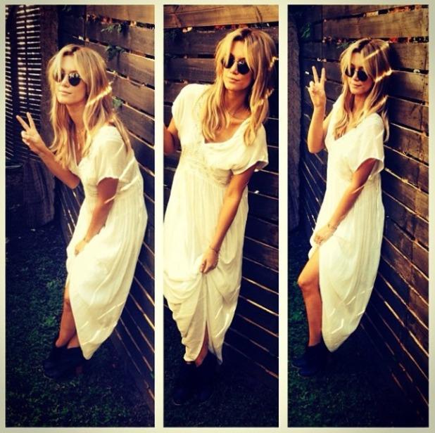 Delta Goodrem style on Instagram, June 14.