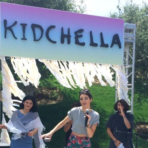 Kim Kardashian throws baby North epic 1st birthday party, Kidchella, 21 June 2014