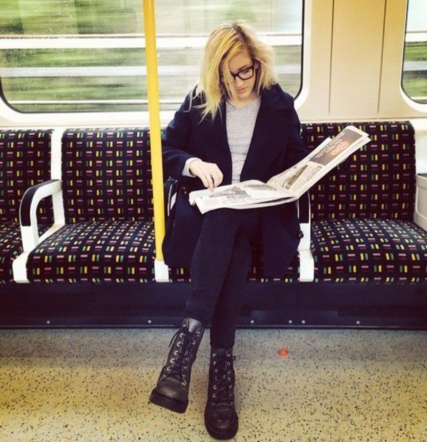 Ellie Goulding, London, Instagram, 16 June