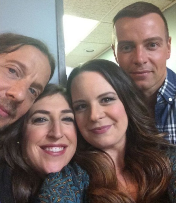 Mayim Bialik shares picture of the Blossom reunion  - 17 June 2014