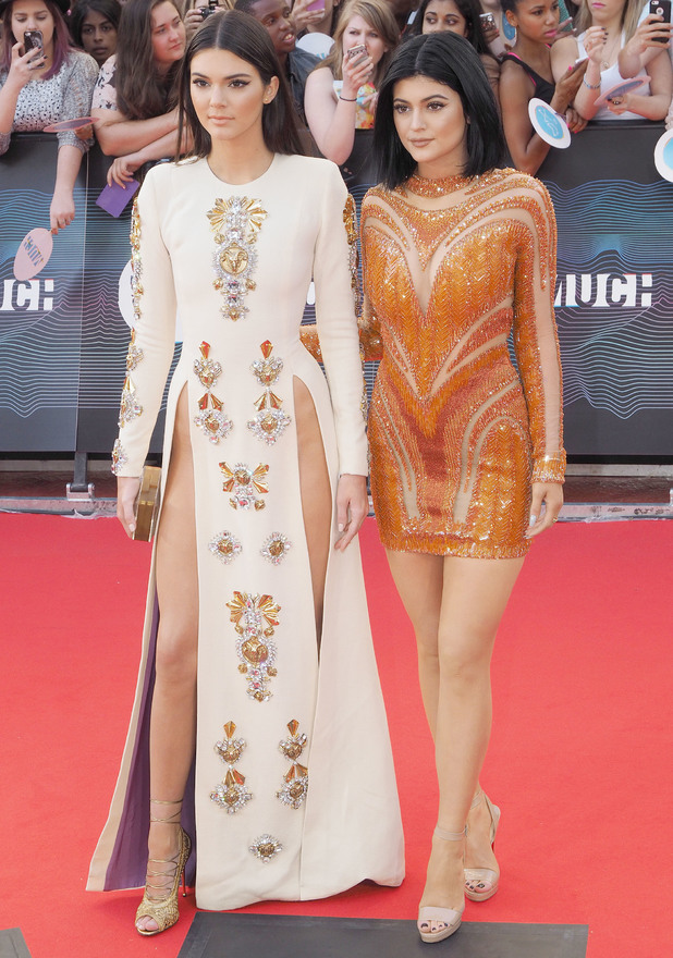 Kendall Jenner and Kylie Jenner attend the MuchMusic Video Awards 2014 in Toronto, Canada - 15 June 2014