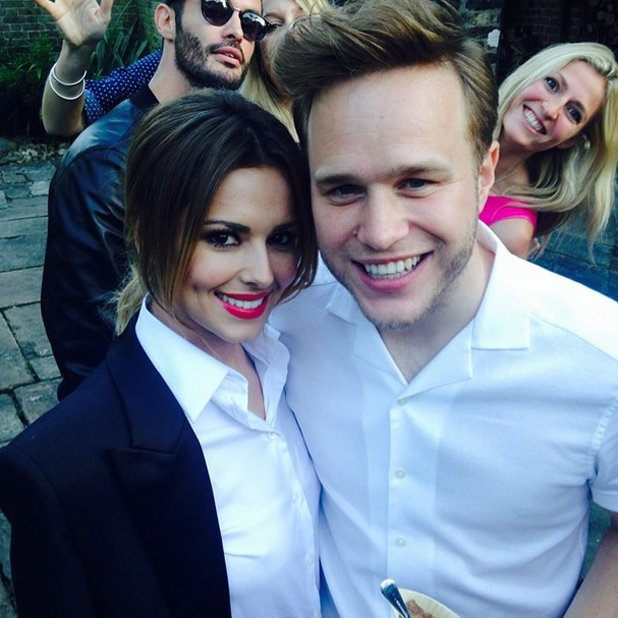 Olly Murs and Cheryl Cole at Modest Management summer party, London, 18 June 2014