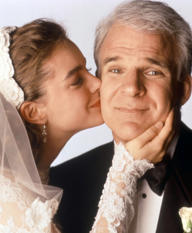 FATHER OF THE BRIDE, Kimberly Williams, Steve Martin, 1991, 1990s
