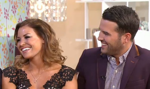 Jessica Wright and Ricky Rayment on This Morning, 18 June 2014