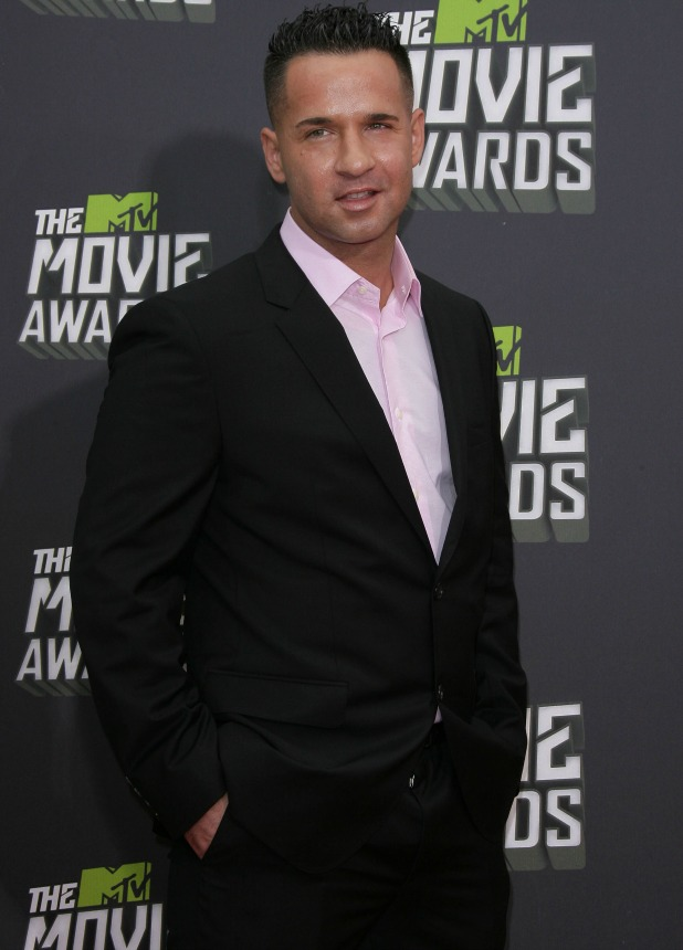 Mike 'The Situation' Sorrentino attends 2013 MTV Movie Awards held at Sony Pictures Studios- Arrivals, 2013
