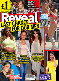 Reveal magazine week 25 cover, 2014