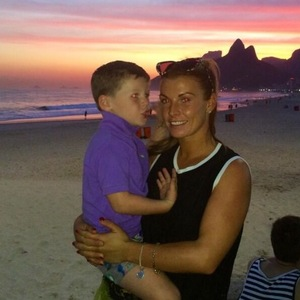 Coleen Rooney goes sightseeing with sons Klay, Kai and her parents - 24 june 2014