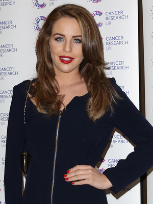 Lydia Bright, 'James' Jog-on to Cancer' fundraiser in aid of Cancer Research UK held at The Kensingron Roof Gardens - Arrivals, 9 April 2014