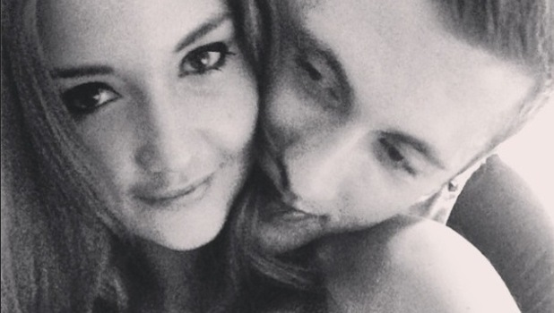 Jacqueline Jossa shares a new picture of herself and Dan Osborne - 25 June 2014