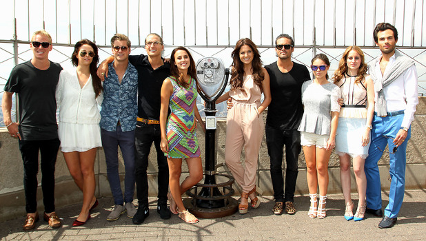The 'Made In Chelsea' cast at the Empire State Building, New York - 27 June 2014