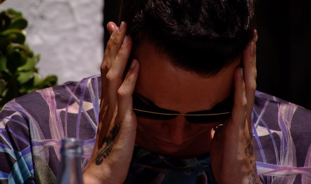 TOWIE's Bobby Norris in tears after Harry Derbidge cheating claims - 25 June 2014