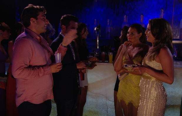 TOWIE: Arg and Lydia have it out in a nightclub in Marbella. Aired: 25 June.