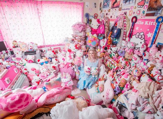 Natasha Goldsworth, I've spent £50,000 on Hello Kitty