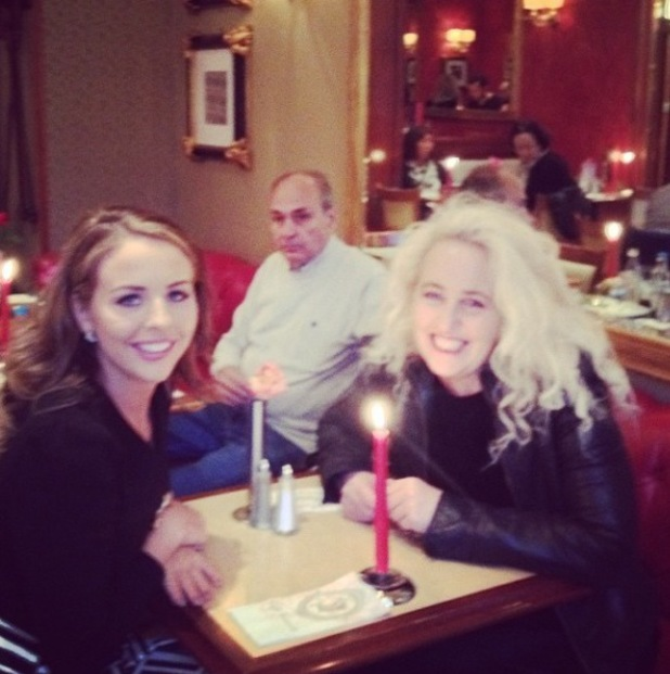 Lydia Bright and Debbie Bright on Lydia's Instagram