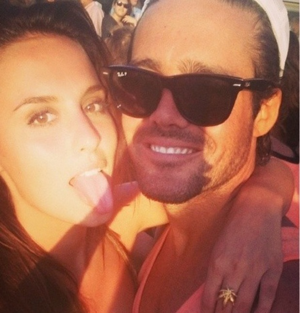Lucy Watson and Spencer Matthews, Made In Chelsea, The Hamptons, New York, Instagram, 23 June
