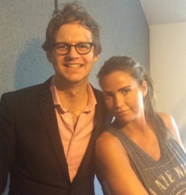 Katie Price and Mark Dolan from FUBAR Radio - 24 June 2014