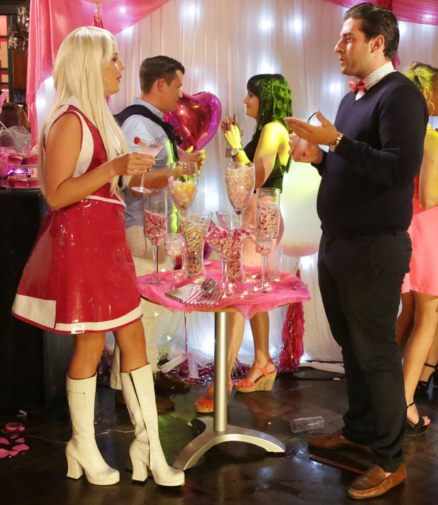 'The Only Way Is Essex' cast at the Sugar Hut, Brentwood, Essex, Britain - 25 Jun 2014 Lydia-Rose Bright and James Argent