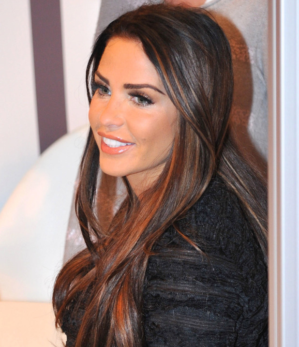 Katie Price attends 'Girls Day Out' event in Glasgow. 30 Nov 2014