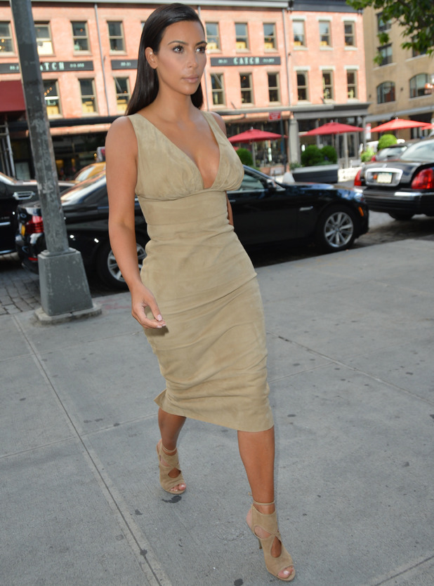 Kim Kardashian out and about in Manhattan - 26 June 2014