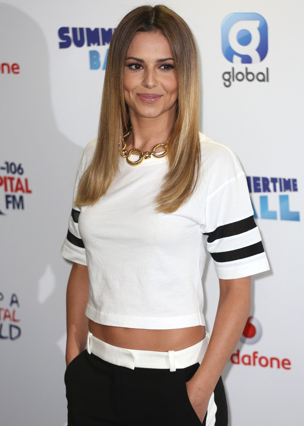 Cheryl Cole at Capital FM Summertime Ball 2014 held at Wembley Arena - Arrivals 06/21/2014 London, United Kingdom