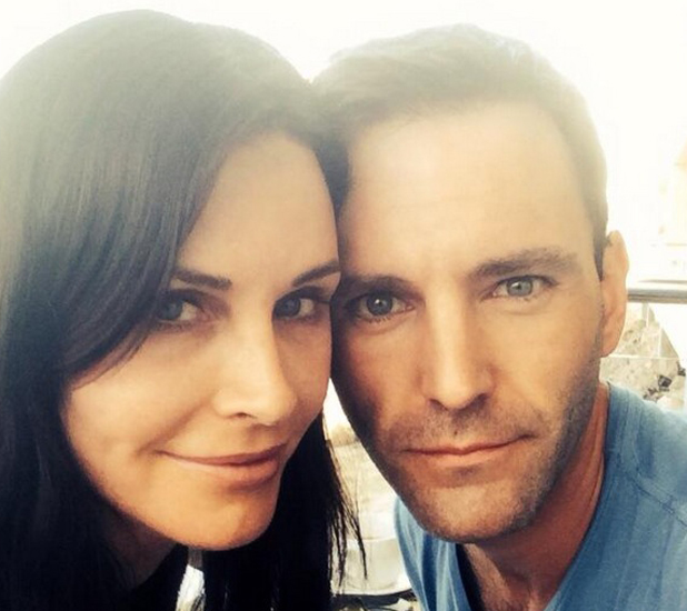 Courteney Cox and Johnny McDaid announce engagement, 26 June 2014