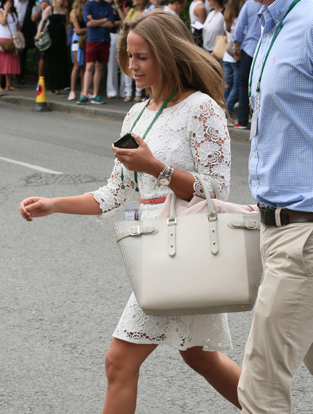 Kim Sears, 2014 Wimbledon Championships at the All England Club - Day 1, 23 June 2014