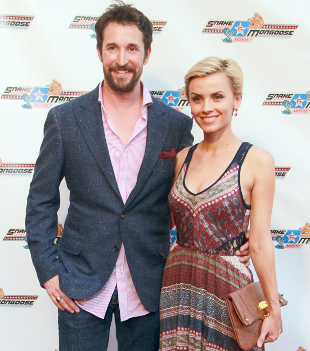 """Noah Wyle and wife Sara Wells, Red Carpet Premiere for """"Snake & Mongoose"""" at The Egyptian Theater, LA, 28 August 2013"""
