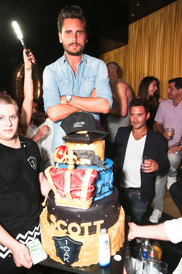Scott Disick Celebrates 31st Birthday at 1OAK Southampton, New York, America - 21 Jun 2014