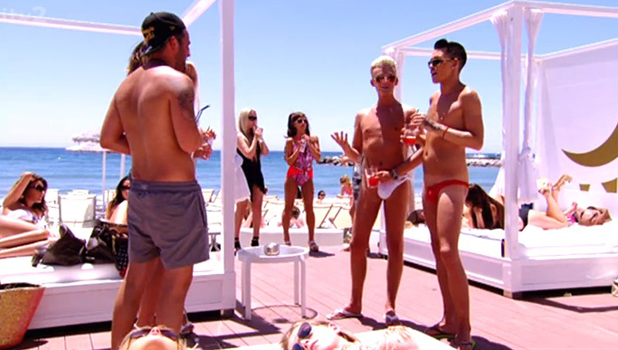TOWIE Marbella special: Harry Derbidge and Bobby Cole Norris, aired 22 June 2014 on ITV2.