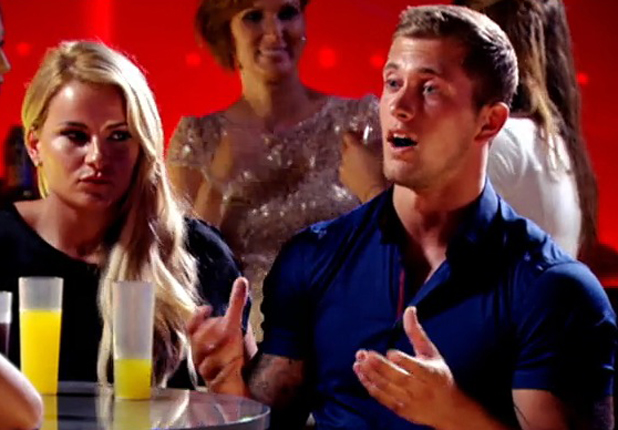 TOWIE's Jasmin Walia cries and throws drink in Dan Osborne's face in Marbella - 25 June 2014