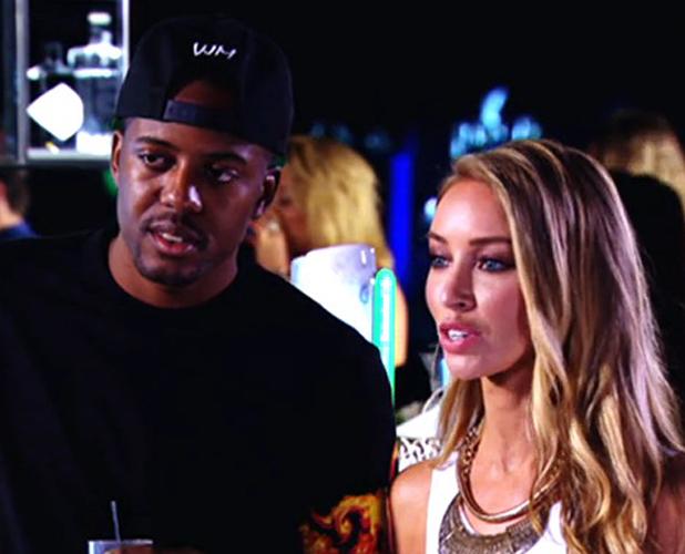 TOWIE's Lauren Pope and Vas J. Morgan in Marbella, aired 22 June 2014