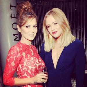Kimberley Walsh and Cheryl Cole, Instagram, September 2013