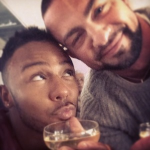 Marcus Collins and Robin Windsor, Instagram, 5 May