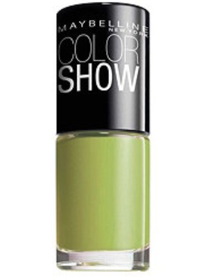 Maybelline Color Show Nail Polish in Pow Green
