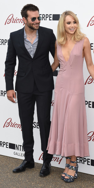 Bradley Cooper and Suki Waterhouse attending the Serpentine Gallery's Summer Party, Hyde Park, London, 1 July