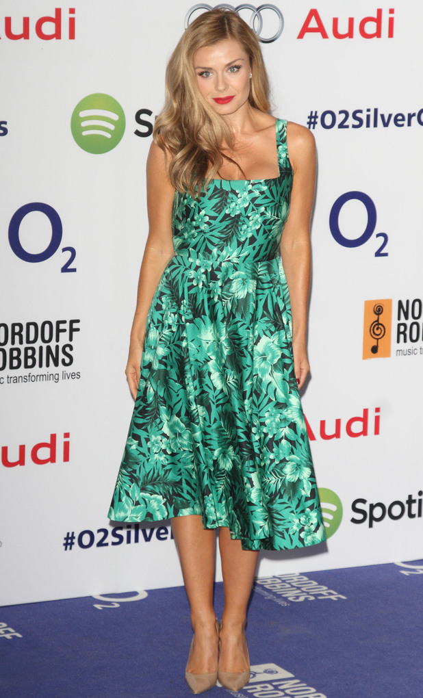 Katherine Jenkins at Nordondoff Robbins Silver Clef Awards, Hilton Park Lane, Lonon, 4/07/14