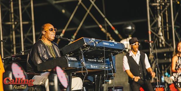 Stevie Wonder headlines Calling Festival in Clapham Common (29 June).