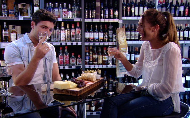 TOWIE PREVIEW, Tom Pearce and Grace Andrews wine tasting date, ITV2, 2 July