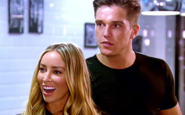 TOWIE's Lauren Pope and Lewis Bloor admit they have kissed - 2 July 2014